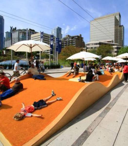 Креативные решения городского дизайна (19 фото)