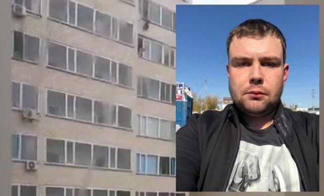 В Астане мужчина поймал ребенка, выпавшего из окна 10-го этажа