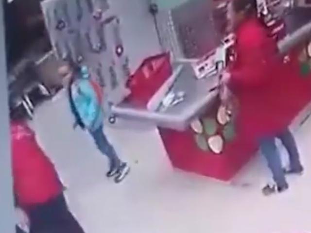 Стрельба на кассе в магазине в Пермском крае