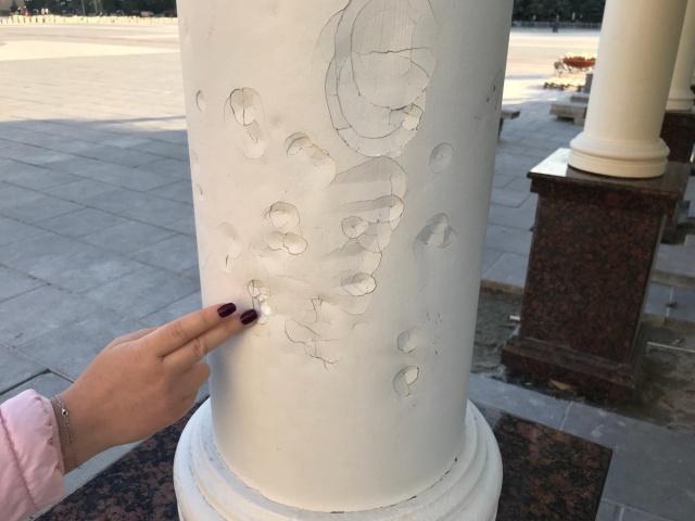 Реконструкция после реконструкции площади 400-летия Тюмени (5 фото)