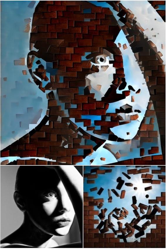 Искусственная нейронная сеть обрабатывает фотографии (20 фото)