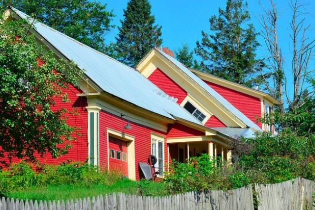 Ведьмино окно - традиция народной архитектуры в Вермонте (4 фото)