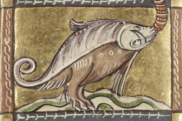 Экзотические животные на рисунках средневековых художников (12 фото)