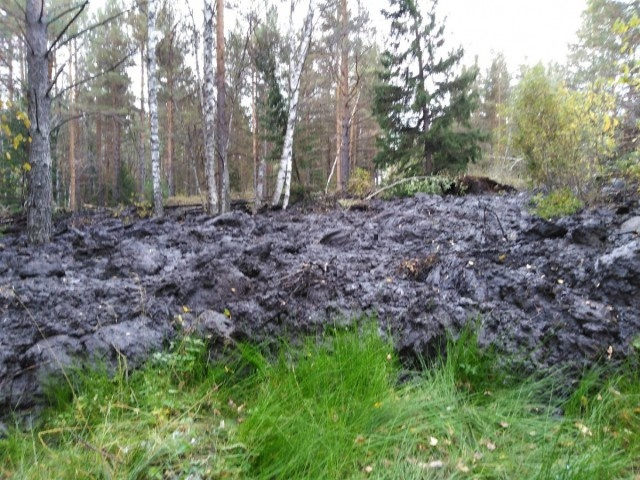 На Южном Урале проснулся грязевой вулкан (5 фото + видео)
