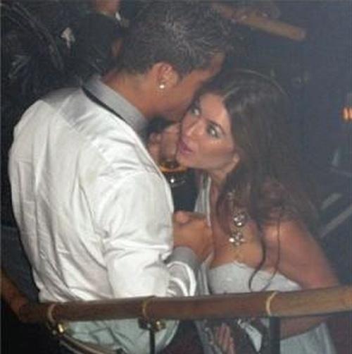 Фотографии Криштиану Роналду и Кэтрин Майорги, обвинившей его в изнасиловании (2 фото)