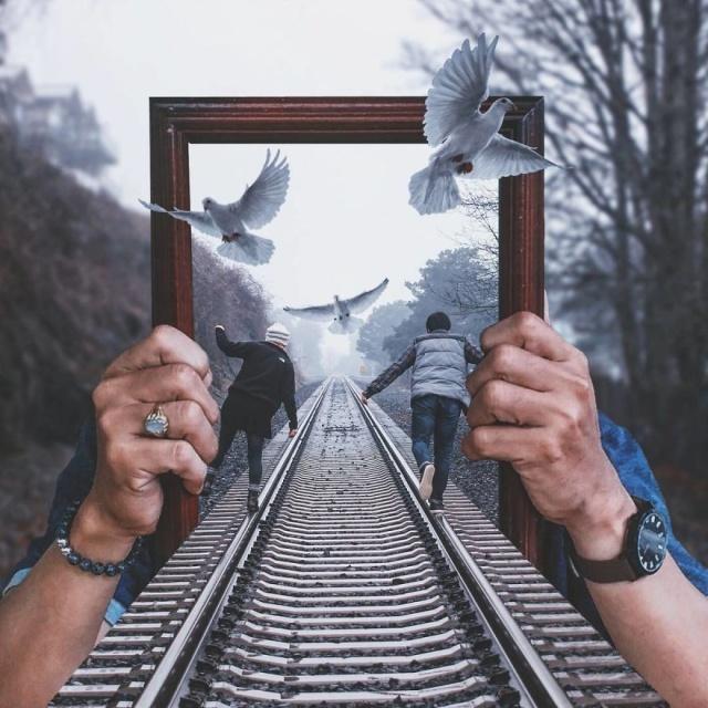 Работы в фотошопе, которые смогут вас удивить (35 фото)