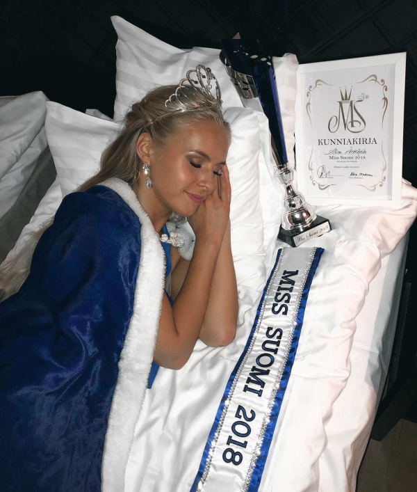 """Мисс Финляндия"" стала Алина Воронкова, девушка с русскими корнями (12 фото)"