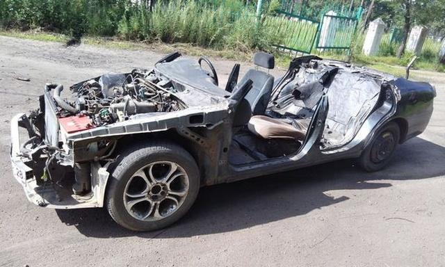 """Необычный """"кабриолет"""" из Toyota Chaser (5 фото + видео)"""