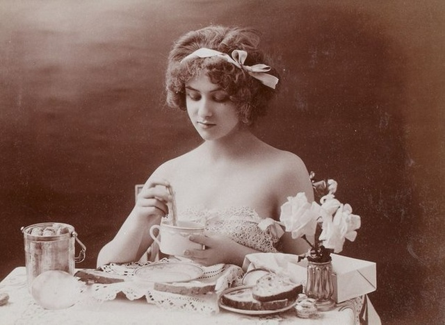 Эротические фото времен эдвардианской эпохи в 1900-е годы (8 фото)