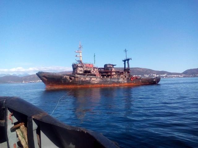 Последствия попадания российской ракеты Х-35У по кораблю (9 фото + видео)