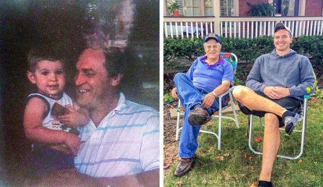 Необычный подарок деду на его 81-й день рождения (12 фото + видео)