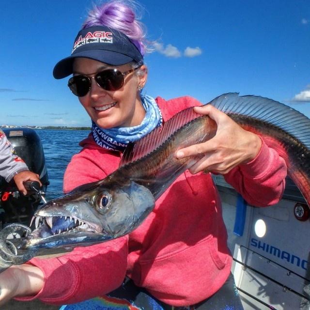 Привлекательная австралийская рыбачка (19 фото)