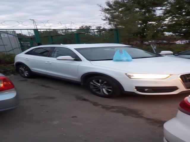 Когда оставил свою Audi на ночь в Бутово
