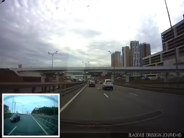 Печальный финал гонки с VW Golf GTI на дороге общего пользования