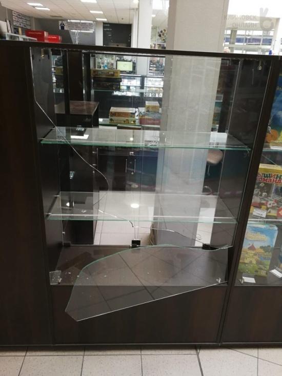 Грабители попытались взорвать банкомат в Подольске (5 фото + видео)