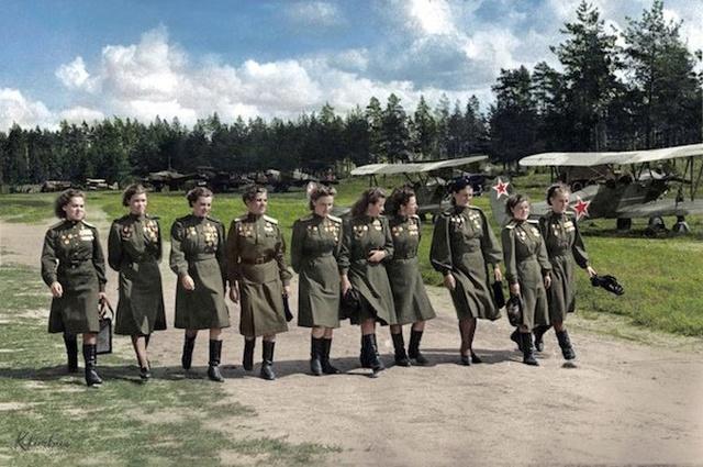 Вторая мировая война в цвете (32 фото)
