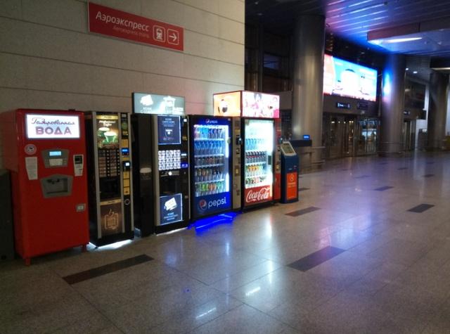 """""""Закладка"""" в аэропорту в Москве (4 фото)"""