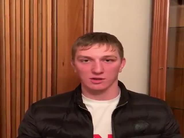 Чеченец, оскорбивший парня, решил извиниться