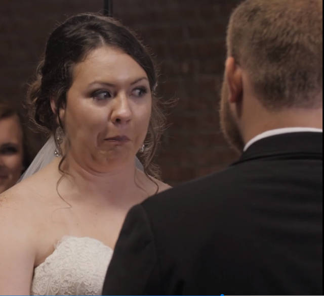 Интересные и креативные свадебные фотографии (69 фото)
