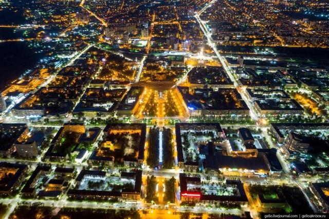 Современный Волгоград с высоты птичьего полета (66 фото)