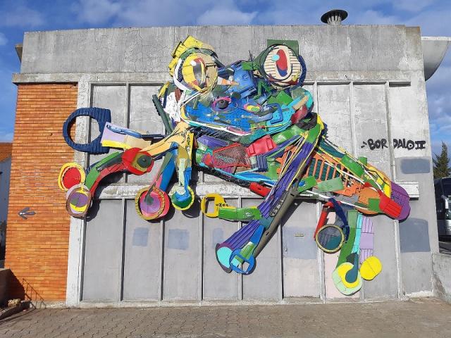 Стрит-арт на улицах Лиссабона (20 фото)