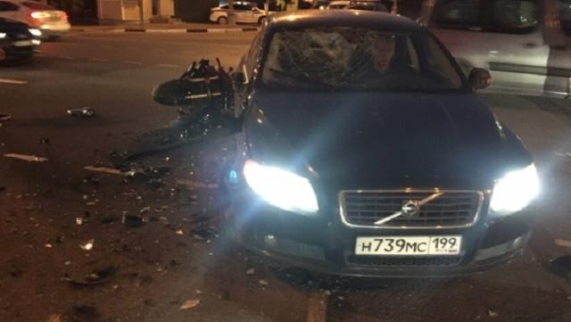 Известная московская байкерша Ольга Петрова разбилась на мотоцикле (6 фото + видео)