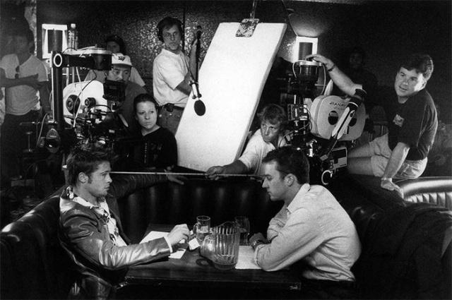Фотографии со съемочных площадок известных голливудских фильмов (13 фото)