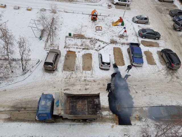 Мэр Якутска Сардана Авксентьева отреагировала на видео об укладке асфальта на снег (3 фото + видео)