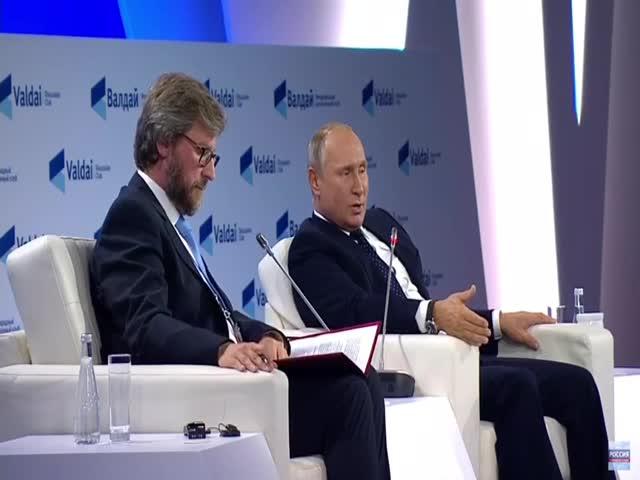 Владимир Путин пояснил, что произойдет, если по России будет осуществлен ядерный удар