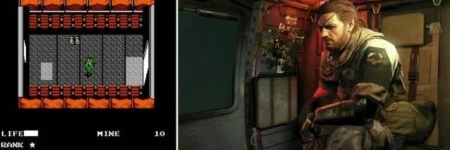 Популярные видеоигры тогда и сейчас (8 фото)