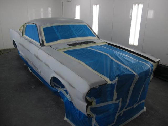 Восстановление Ford Mustang Fastback 1965 года (25 фото)