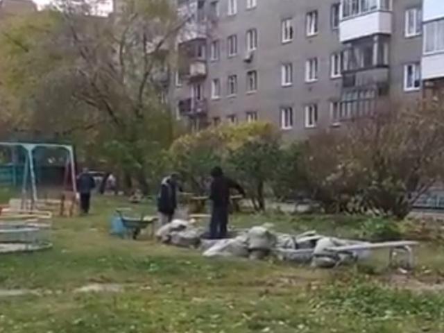 """""""Песочный беспредел"""" в Новосибирске"""