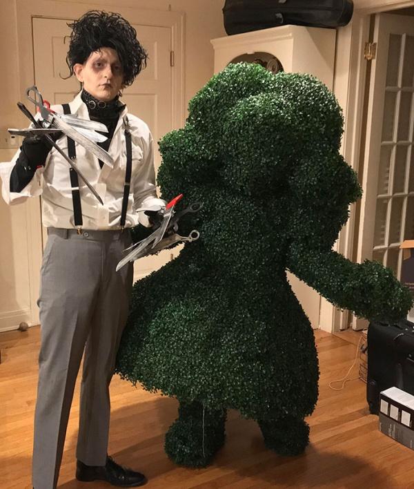 Необычные и креативные костюмы на Хэллоуин (36 фото)