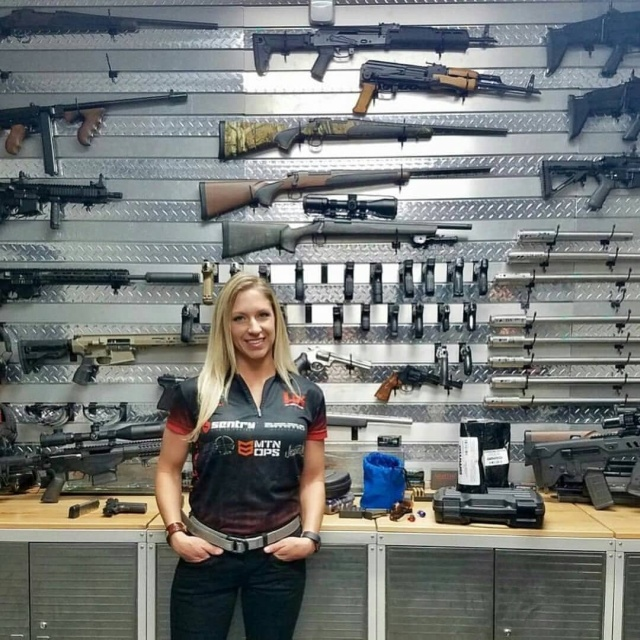 Модифицированное современное оружие (26 фото)