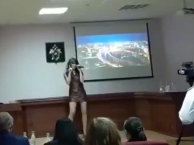 Старший следователь на конкурсе талантов ГСУ по Москве