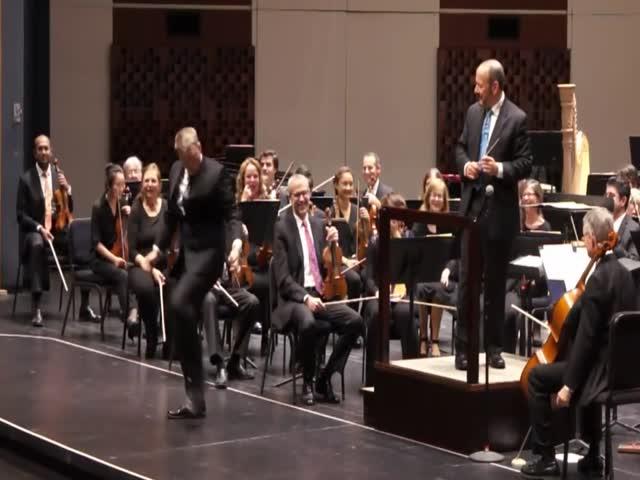 Когда ты самый важный в оркестре