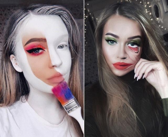 Литовский визажист создает удивительный художественный макияж (21 фото)