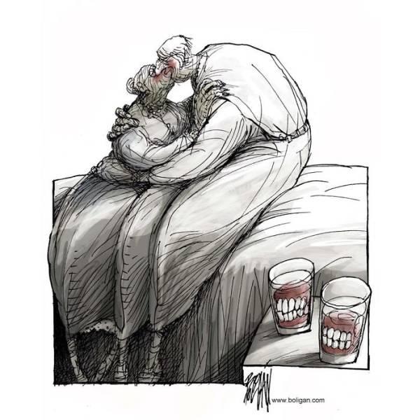 Проблемы современного общества в работах мексиканского иллюстратора (29 картинок)