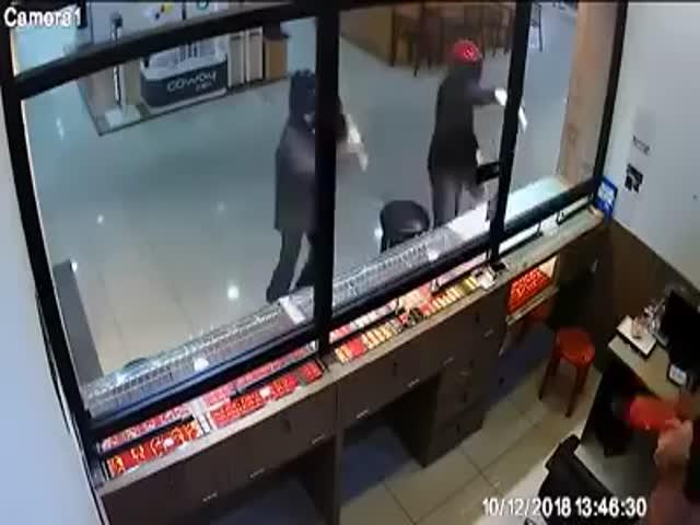 Необычное ограбление