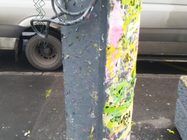 Борьба с уличной рекламой в Санкт-Петербурге (5 фото)