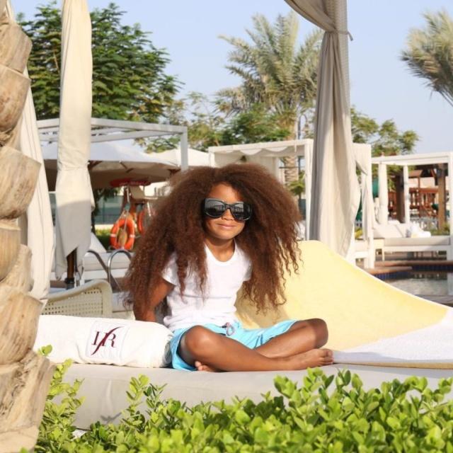6-летний мальчик из Британии стал звездой модельного бизнеса благодаря своим волосам (10 фото)