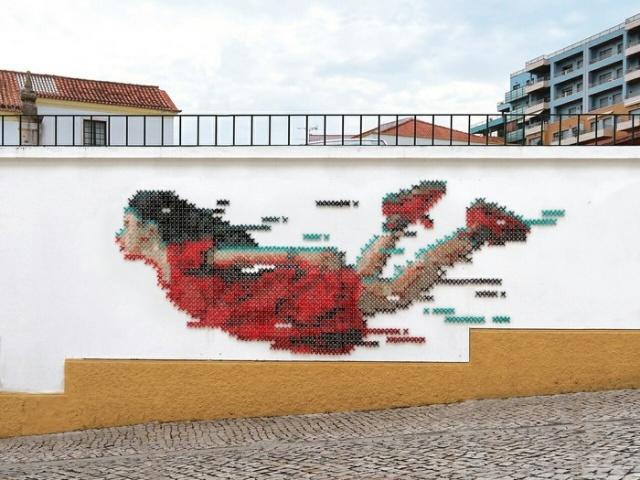 Необычный стрит-арт (6 фото)