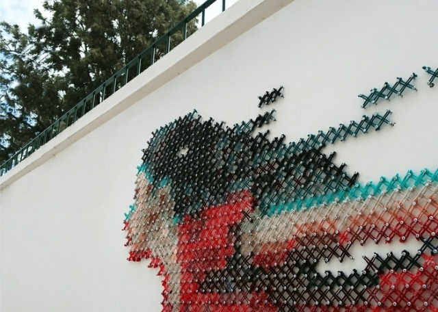 Olağandışı sokak sanatı (6 fotoğraf)