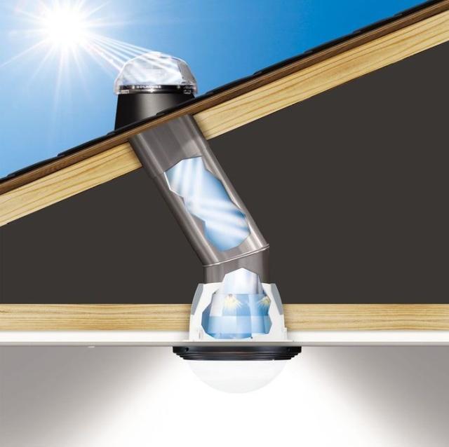 """Что такое """"солнечный колодец"""", для чего он нужен, и как работает (8 фото)"""