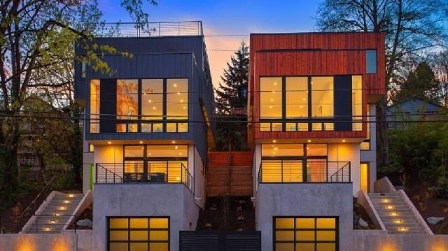 Необычные дома, собранные из контейнеров (27 фото)