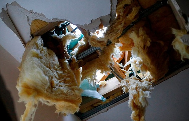 Житель Великобритании чуть не погиб в своем собственном доме (5 фото)