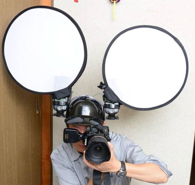 Удобное приспособление для профессиональных фотографов (6 фото)