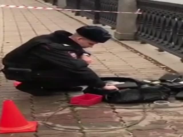Рыбаки выловили из Москвы-реки сумку с оружием