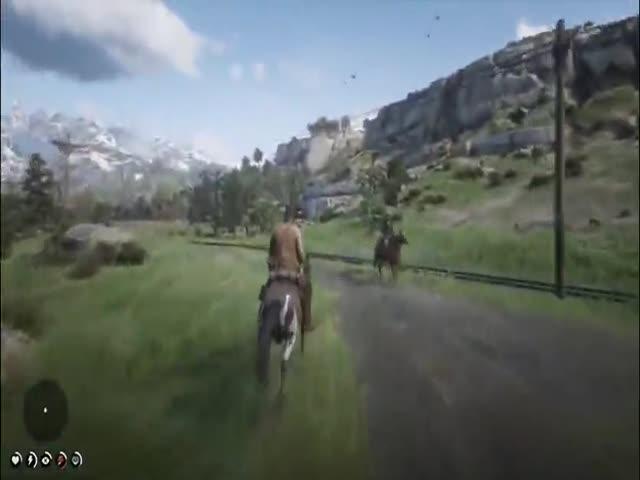 Необычный способ играть в Red Dead Redemption 2 на ПК