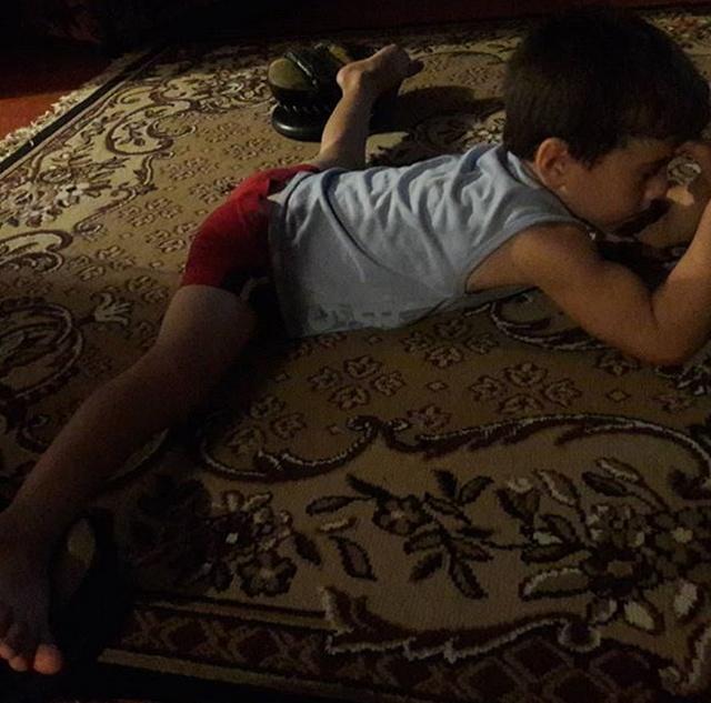 Пятилетний Рахим Кураев установил мировой рекорд, отжавшись 4105 раз (12 фото)